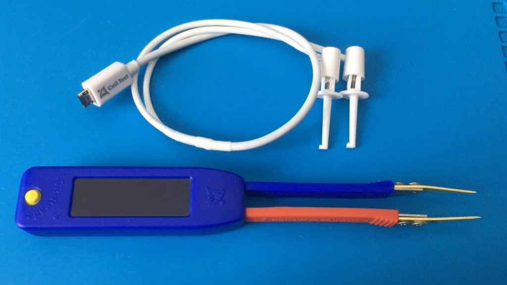 LCR-Reader-MPA with Coil Ring Tester